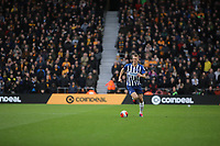 Dan Burn of Brighton & Hove Albion during Wolverhampton Wanderers vs Brighton & Hove Albion, Premier League Football at Molineux on 7th March 2020