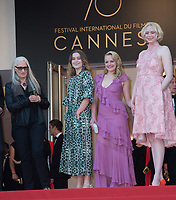 Jane Campion, Alice Englert, Elisabeth Moss &amp; Gwendoline Christie at the premiere for &quot;The Beguiled&quot; at the 70th Festival de Cannes, Cannes, France. 24 May 2017<br /> Picture: Paul Smith/Featureflash/SilverHub 0208 004 5359 sales@silverhubmedia.com