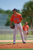 GCL Astros pitcher Yeremi Ceballos (31) during a Gulf Coast League game against the GCL Marlins on August 8, 2019 at the Roger Dean Chevrolet Stadium Complex in Jupiter, Florida.  GCL Astros defeated GCL Marlins 4-2.  (Mike Janes/Four Seam Images)