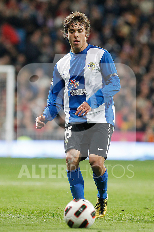 Hercules' Kiko Femenia Far during La Liga match.March 12,2011. (ALTERPHOTOS/Acero)