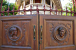 Carved Wooden Entrance Doors