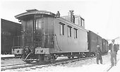 Caboose #0503 on train.<br /> D&amp;RG    ca 1912