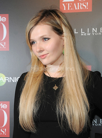 New York, NY-September 8: Abigail Breslin attends Instyle 20th Anniversary Party on September 8, 2014 at Diamond Horseshoe at the Paramount Hotel in New York City.  Credit: John Palmer/MediaPunch