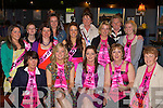 Jenny O'Sullivan Glenbeigh on her hen party with the NED hens in the Top Deck restaurant Killorglin on Saturday night front row l-r: Bridget Seidler, Rachel, Jenny, Mary O'Sullivan, Mary Lungley. Back row: Emer, Tricia, Hazel, Ciara, Nora, Chantal, Mary, Denise and Rebecca O'Sullivan