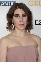 Zosia Mamet arriving for the Girls - UK premiere of the third series held at the Cineworld Haymarket - Arrivals, London. 15/01/2014 Picture by: Henry Harris / Featureflash