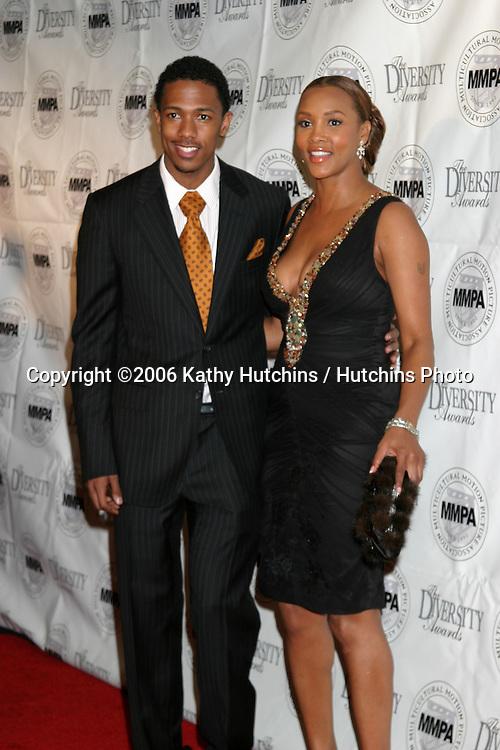 Nick Cannon & Vivica A Fox.Diversity Awards 2006.Century Plaza Hotel.Century City, CA.November 19, 2006.©2006 Kathy Hutchins / Hutchins Photo....