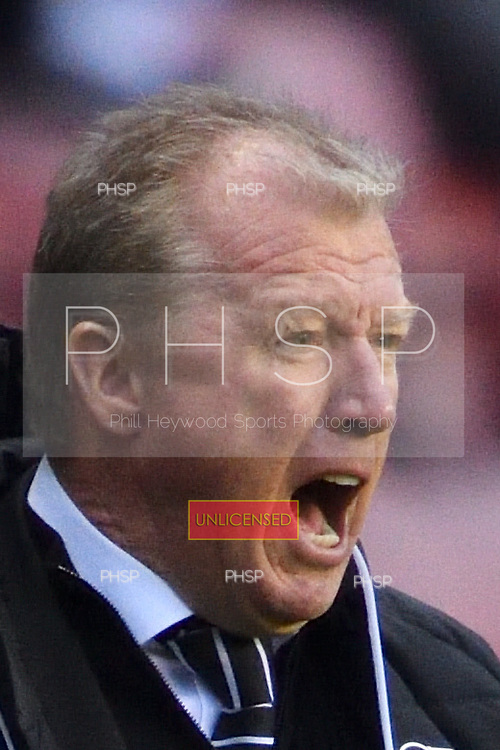 03/12/2016 Sky Bet Championship Wigan Athletic v <br /> Derby County<br /> <br /> Steve McClaren, Derby County FC Manager