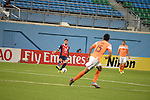 Balestier Khalsa vs Johor Darul Ta'zim during the 2015 AFC Cup 2015 Group F match on March 10, 2015 at the Jalan Besar Stadium in Singapore, Singapore. Photo by Yusuf Yacob / World Sport Group