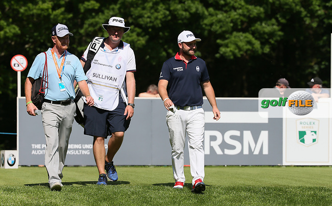 Andy Sullivan (ENG) during the Pro-Am ahead of the BMW PGA Championship, at Wentworth Golf Club, Surrey, England.  24/05/2017. Picture: David Lloyd | Golffile.<br /> <br /> Images must display mandatory copyright credit - (Copyright: David Lloyd | Golffile).