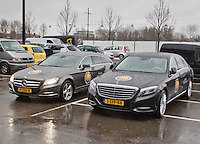 07-02-14, Netherlands, Rotterdam, Ahoy, ABNAMROWTT,Mercedes the  official car<br /> Photo: Henk Koster