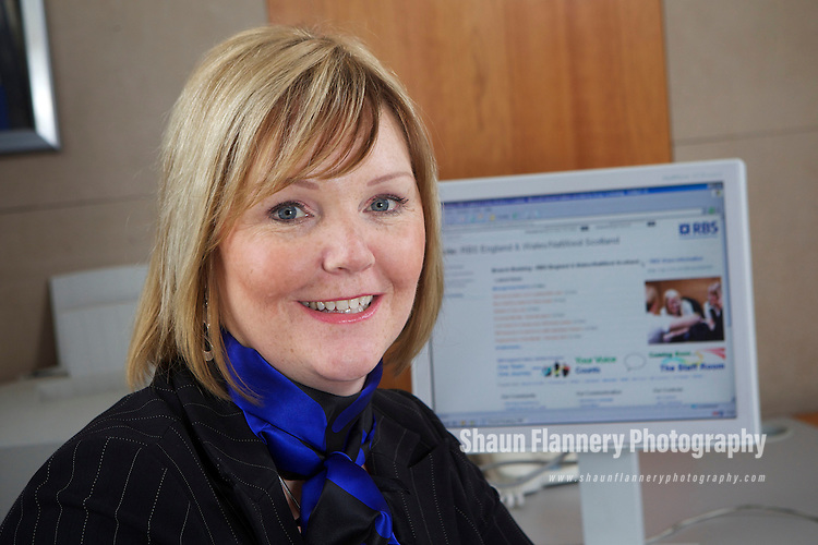 Pix: Shaun Flannery/shaunflanneryphotography.com...COPYRIGHT PICTURE>>SHAUN FLANNERY>01302-570814>>07778315553>>..1st April 2011...............Paula Flannagan, Royal Bank of Scotland.