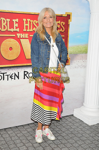 """Gaby Roslin at the """"Horrible Histories: The Movie - Rotten Romans"""" world film premiere, Odeon Luxe Leicester Square, Leicester Square, London, England, UK, on Sunday 07th July 2019.<br /> CAP/CAN<br /> ©CAN/Capital Pictures"""