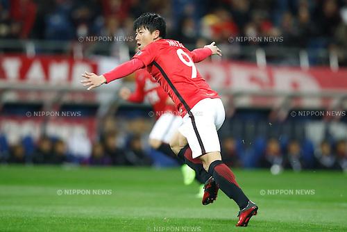 Yuki Muto (Reds), FEBRUARY 28, 2017 - Football / Soccer : 2017 AFC Champions League Group F match between Urawa Reds 5-2 FC Seoul <br /> at Saitama Stadium 2002, Saitama, Japan. <br /> (Photo by Sho Tamura/AFLO SPORT)