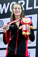 OLEKSIAK Penny CAN<br /> 50 Butterfly Women Final Silver Medal<br /> Day04 28/08/2015 - OCBC Aquatic Center<br /> V FINA World Junior Swimming Championships<br /> Singapore SIN  Aug. 25-30 2015 <br /> Photo A.Masini/Deepbluemedia/Insidefoto