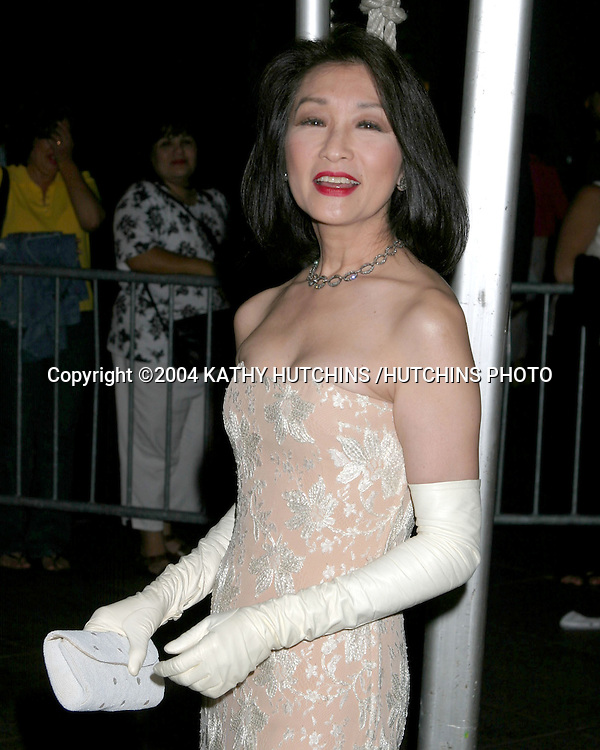 ©2004 KATHY HUTCHINS /HUTCHINS PHOTO.DAYTIME EMMYS.NEW YORK CITY, NY.MAY 21, 2004..CONNIE CHUNG.