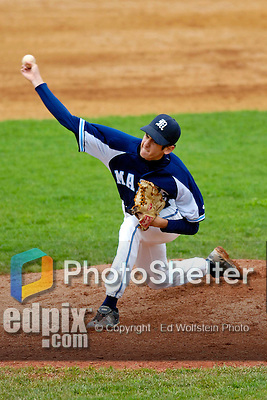 18 May 2006: AJ Balsinde,  a University of Maine Freshman from Miami, FL, on the mound against the University of Vermont Catamounts, at Historic Centennial Field, in Burlington, Vermont...Mandatory Photo Credit: Ed Wolfstein Photo..