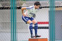 SÃO PAULO,SP, 10.04.2019 - FUTEBOL-SÃO PAULO FC -  Pato,  jogador do São Paulo Fc, durante treino no Ct da Barra Funda, na região oeste da cidade de São Paulo, na manhã desta quarta-feira, 10. )Foto: Dorival Rosa/Brazil Photo Press/Folhapress)