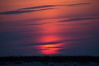 Sunset at Seal River Heritage Lodge