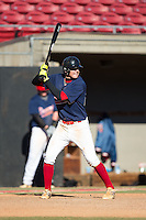 Jack Jett (60) of Northumberland High School in Heathsville, Virginia playing for the Atlanta Braves scout team at the South Atlantic Border Battle at Doak Field on November 2, 2014.  (Brian Westerholt/Four Seam Images)