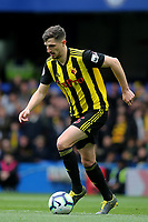 Craig Cathcart of Watford in action during Chelsea vs Watford, Premier League Football at Stamford Bridge on 5th May 2019