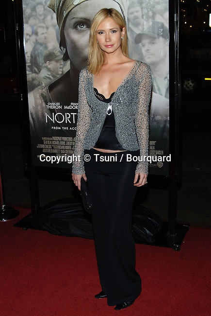 Ashley Jones arriving at the North Country  Premiere at the Chinese Theatre in Los Angeles. October 10, 2005.