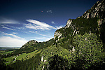A view of the apls landscape in Germany, August 06, 2008. (ALTERPHOTOS/Alvaro Hernandez)