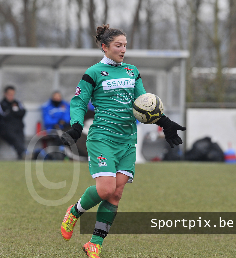 OHL Oud Heverlee Leuven : Sara Yuceil.foto DAVID CATRY / Vrouwenteam.be