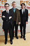 Roger Reese, Rick Elice, Alex Timbers.attending the Broadway Opening Night Performance of 'Peter And The Starcatcher' at the Brooks Atkinson Theatre on 4/15/2012 in New York City.