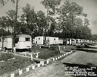 1945 October 20..Historical..VA 44186 Lewis Park.Northeast side of Arnold Drive showing Utility Trailer...NEG#.NRHA#..