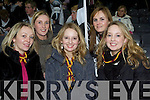 Ardfert and Duagh supporters, Tima Harnett, Michelle Gilbane, Eleanor Cummins, Ruth Wallace and Sheila Cummins were in Croke Park on Saturday evening to watch their teams in action..