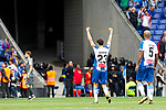 RCD Espanyol's Esteban Granero celebrates victory during La Liga match. May, 18th,2019. (ALTERPHOTOS/Alconada)