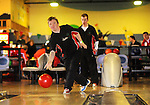 Brendan Barrett from the Ennis Eagles Bowling Club, former gold medallist, in action during the Special Olympics Munster qualifiers at Leisure World in Ennis. Photograph by Declan Monaghan