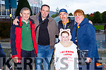 Mike Gorman, John O'Sullivan John O'Shea, Emma O'Sullivan and Sheila Teahan at the MS Walk Old Kenmare Walk on Sunday