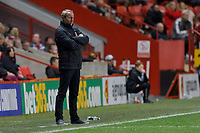 Lee Bowyer manager of Charlton Athletic during the Sky Bet Championship match between Charlton Athletic and Swansea City at The Valley, London, England, UK. Wednesday 02 October 2019