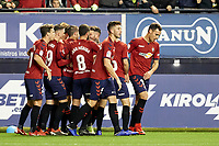 Ruben García (midfield; CA Osasuna) celebrate the goal  during the Spanish football of La Liga 123, match between CA Osasuna and AD Alcorcón at the Sadar stadium, in Pamplona (Navarra), Spain, on Sunday, January 6, 2019.