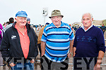 John O'Sullivan Lispole, Terry o'Connor Dingle and john Ryall Lispole at Glenbeigh races on Sunday
