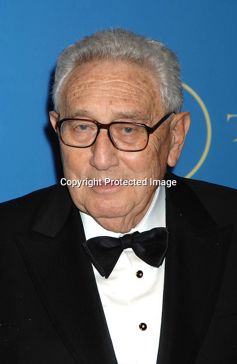Dr Henry Kissinger..arriving at The New York Public Library Annual Library Lions Gala on November 13, 2006 honoring Oprah Winfrey,..Gao Xingjian, Orhan Pamuk, Dr James D Watson and ..Mr Elie Wiesel. ..Photo by Robin Platzer, Twin Images