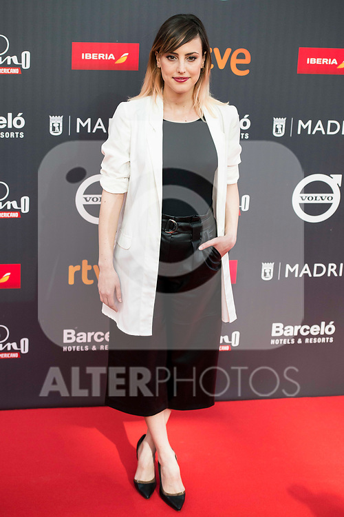 "Natalia de Molina attends to the presentation of the ""Premios Platino"" at Palacio de Cristal in Madrid. April 07, 2017. (ALTERPHOTOS/Borja B.Hojas)"