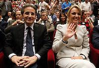 Manifestazione  di Forza Italia<br /> nella foto  stefano caldoro   Francesca Pascale