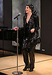 Liliane Montevecchi performing at 'Love n' Courage' - Theater for the New City Benefit at The National Arts Club on February 24, 2014 in New York City.