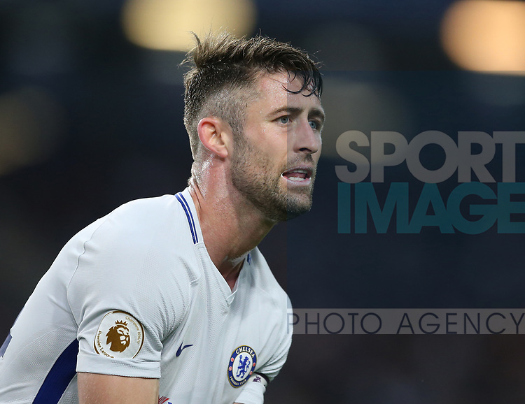 Gary Cahill of Chelsea during the premier league match at the Turf Moor Stadium, Burnley. Picture date 19th April 2018. Picture credit should read: Simon Bellis/Sportimage