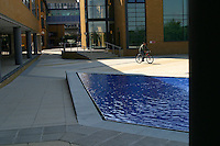 Water feature, University of Surrey.