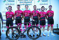 St George Continental Cycling Team (Australia). 2019 Grassroots Trust NZ Cycle Classic UCI 2.2 Tour at St Peter's School in Cambridge, New Zealand on Tuesday, 22 January 2019. Photo: Dave Lintott / lintottphoto.co.nz