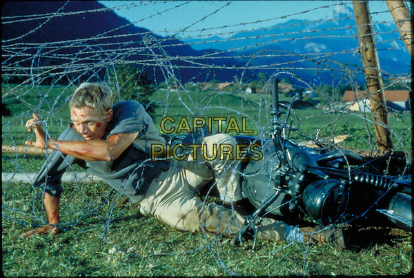 Steve McQueen<br /> in The Great Escape (1963) <br /> *Filmstill - Editorial Use Only*<br /> CAP/NFS<br /> Image supplied by Capital Pictures