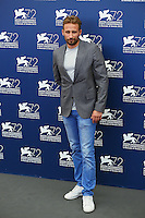 Matthias Schoenaerts attends a photocall for the movie 'A Bigger Splash' during the 72nd Venice Film Festival at the Palazzo Del Cinema in Venice, Italy, September 6, 2015. <br /> UPDATE IMAGES PRESS/Stephen Richie