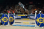 Philipp Weishaupt of Germany riding Souvenir at the the Massimo Dutti Trophy during the Longines Hong Kong Masters 2015 at the AsiaWorld Expo on 15 February 2015 in Hong Kong, China. Photo by Juan Flor / Power Sport Images