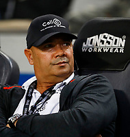 Trevor Barnes (Team Manager) during the Super rugby match between the Cell C Sharks and the Emirates Lions at Jonsson Kings Park Stadium in Durban, South Africa 30 March 2019. Photo: Steve Haag / stevehaagsports.com