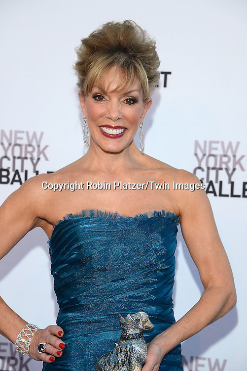 Michele Riggi attends the New York City Ballet's 3rd Annual  Fall Fashion Gala on September 23, 2014 at David Koch Theatre in Lincoln Center in New York City. <br /> <br /> photo by Robin Platzer/Twin Images<br />  <br /> phone number 212-935-0770