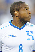 Washington, D.C.- May 29, 2014. Honduras midfielder Wilson Palacios.  Turkey defeated Honduras 2-0 during an international friendly game at RFK Stadium.