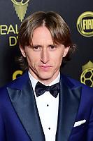 Luka Modric<br /> Parigi 02-12-2019 <br /> Calcio <br /> Pallone D'oro 2019 <br /> Golden Ball 2019 <br /> Ballon d'or 2019 <br /> Foto JB Autissier / Panoramic / Insidefoto